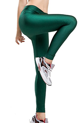 e1a6e8cbe8f Romastory Women Fluorescent Colors Tights Stretched Sports Leggings Yoga  Pants