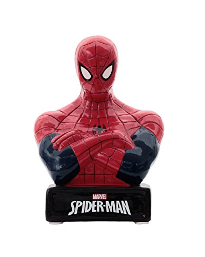 Marvel Spiderman Ceramic Bank in Official Marvel Box- One Size by UPD