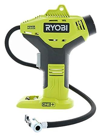 Amazon.com: Ryobi P737 - Inflador portátil inalámbrico para ...