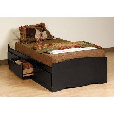 Prepac Twin Platform Storage Bed
