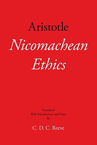 Nicomachean Ethics (Hackett Classics)