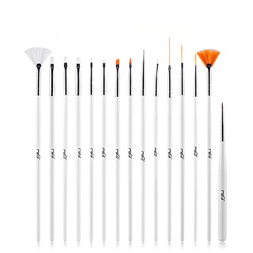 - Flyesto 15-Piece Cake Ice CoCo Decorating Painting Brushes & Pen Fondant Sugar Craft Clay DIY Tools Set