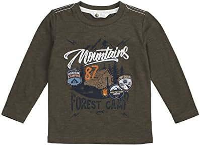 Petit Lem Boys' Little Wolf Pack L/s Knit T-Shirt