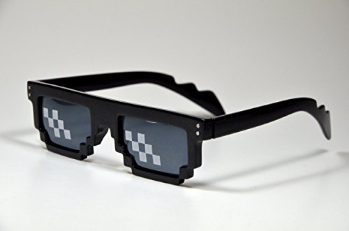 thug life meme 8 bit mlg pixelated sunglasses cool swag costume