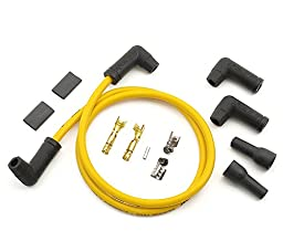 ACCEL 170085 8.8mm Yellow Universal Spark Plug Wire Set