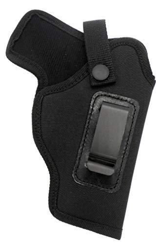 HOLSTERMART USA Dual-Function OWB Belt Slide or IWB AIWB Concealment Holster with Body Shield for Ruger SR9, SR40, SR45, 9E, Security 9