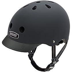 Nutcase GEN3 Street Helmet Casco da Bici, Multicolore/Blackish Matte, M