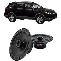 Fits Hyundai Veracruz 2007-2012 Front Door Factory Replacement Harmony HA-R65 Speakers