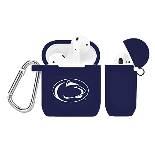 Apple Lion Battery - Penn State Nittany Lions Silicone Case Cover for Apple AirPod Battery Case - Navy