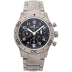 Breguet Type XX Mechanical (Automatic) Black Dial Mens Watch 3820TIK2TW9 (Certified Pre-Owned)