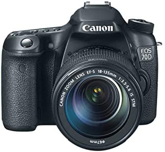 Canon EOS 70D - Cámara digital (20.2 MP, CMOS, TTL) con objetivo ...