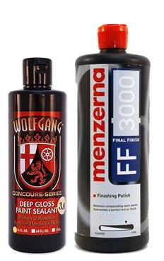 (Wolfgang / Menzerna German Final Gloss Combo (Final Finish/Paint Sealant))