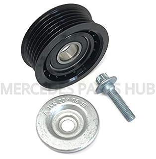 Genuine Mercedes-Benz Serpentine Idler Pulley 278-202-02-19