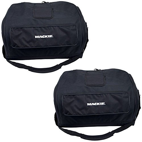 (2) Brand New Mackie Travel Speaker Bags Soft for SRM450-V2 or C300Z by Mackie