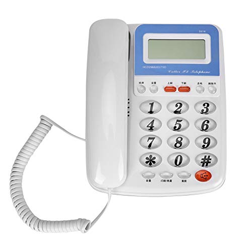- Tangxi Corded Phone with Speakerphone and Caller ID/Call Waiting, No Battery Required