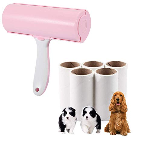 XIYUAN Pet Hair Removal Roller for Cat and Dog Hair,Clothes, and Furniture Hair Removal Roller Brush to Remove Excess Sticky Hair