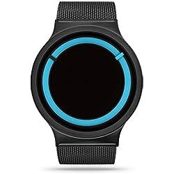 ZIIIRO Eclipse Metallic Black Ocean Watch