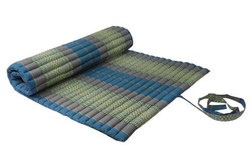 Rollbare Matratze rollbare thaimatte matratze ca 200 x 100 cm thaikissen matte