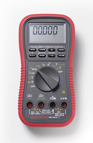 Amprobe AM-160-A TRMS Multimeter with Temperature by Amprobe