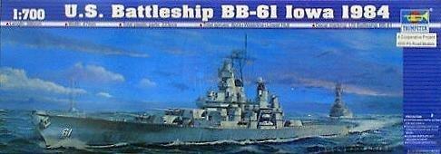 Trumpeter - US Battleship BB-61 Iowa 1984 by Trumpeter (61 Iowa Bb Battleship)