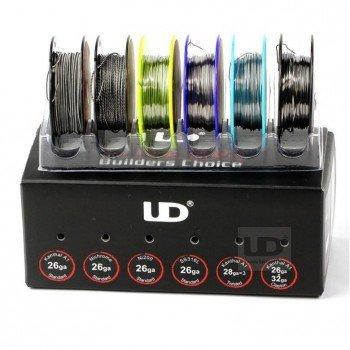 Original Youde UD Wire Box (10m Kanthal A1 26ga, 10m Ni200 26ga, 10m SS316L...