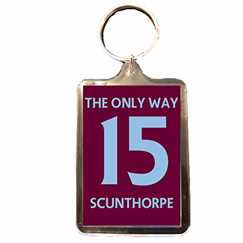 fan products of Scunthorpe United F.C - The Only Way 15 Keyring
