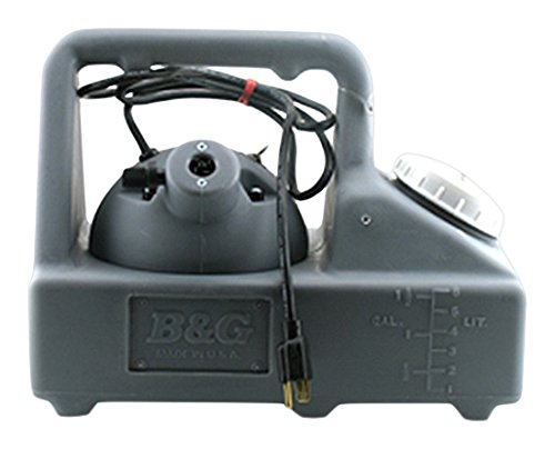 B & G Equipment 15015100 Ultra-Lite 2400 Fogger, Adjustable 0-9 oz per Minute Delivery, 1.5 gal Capacity, 3-1/2