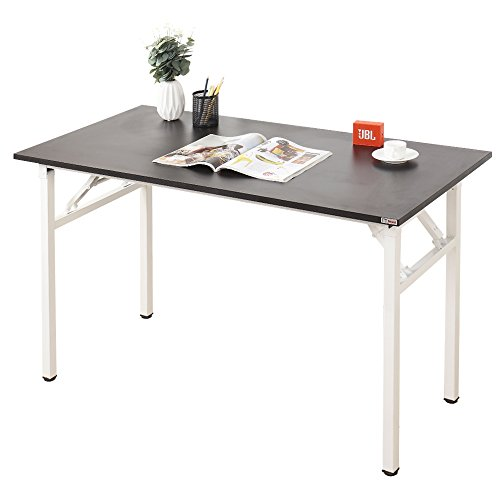 Need Computer Desk Office Desk 55'' Folding Table with BIFMA Certification Computer Table Workstation No Install Needed, AC5CW-140 by Need
