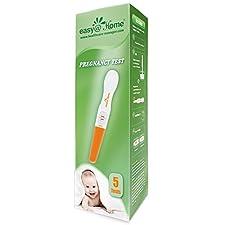 Easy@Home Pregnancy Test - hCG Midstream - 5 Pack