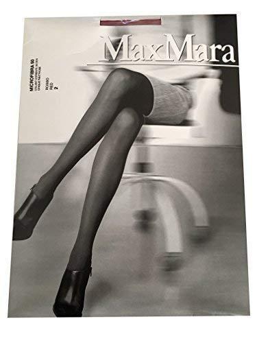 Max Mara collant donna 50 den rosso mod MICROFIBRA 50 2-S  Amazon.it   Abbigliamento e015bec917e