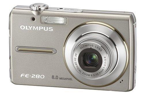 olympus fe 280 compact digital camera silver 2 5 lcd amazon co uk rh amazon co uk olympus fe-280 camera manual olympus fe-280 camera manual