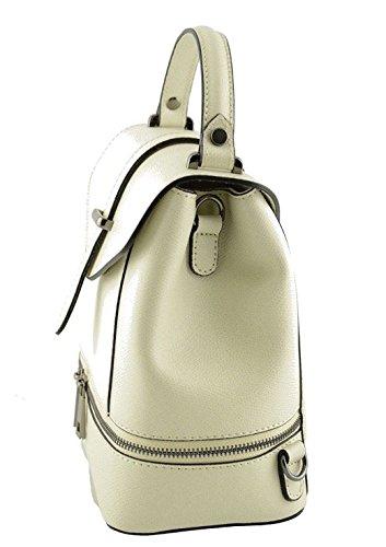 Superflybags - Bolso de asas para mujer bianco