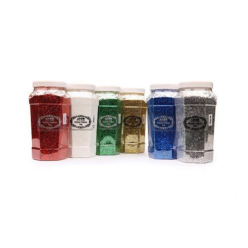 multicolore Brian Clegg GLMU040H//1KG Glitter confezione da 6 tinta unita tonalit/à standard