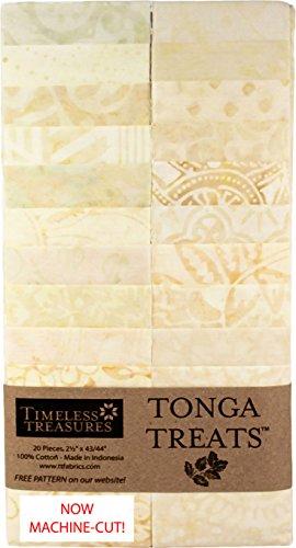 Batik Strips (Timeless Treasures Pearl Tonga Batiks 20 Strips)