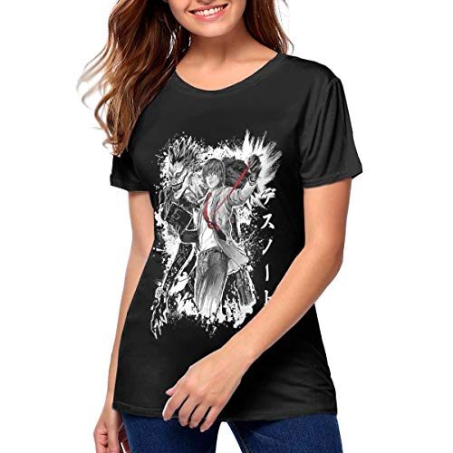 Womans Death Note T Shirt Games Tee Shirt XXL Gift Black