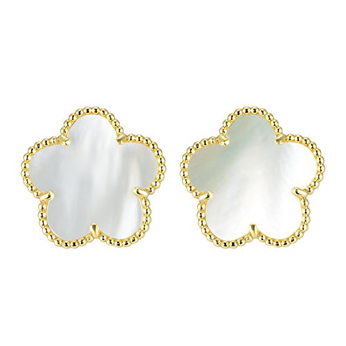 (BIJOUX BOBBI [Gift Packaging Mother of Pearl Mother of Pearl Collections - Earrings - A3542EGM )