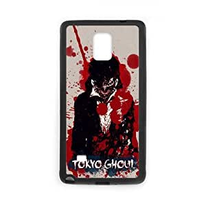 Japanese Tokyo Ghoul Funda Samsung Galaxy Note 4 Funda caja del teléfono celular Negro J6T6XR Cheap Phone Case Hard
