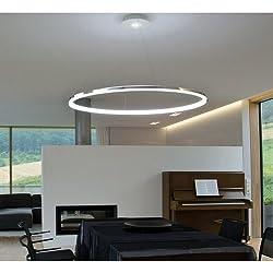 LightInTheBox Pendant Light Modern Design Living LED RingHome Ceiling Light Fixture Flush Mount, Pendant Light Chandeliers Lighting,Voltage=110-120V