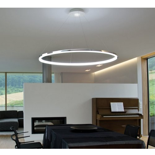 Lightinthebox pendant light modern design living led ringhome ceiling light fixture flush mount pendant light chandeliers lightingvoltage110 120v