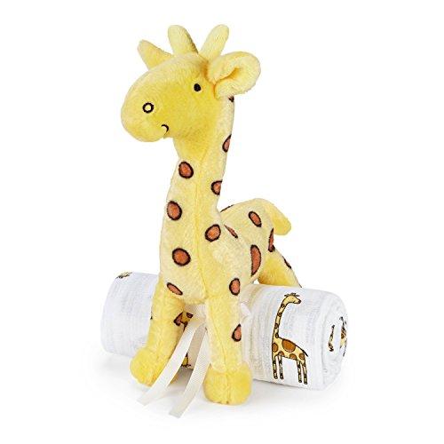 aden anais Jungle Swaddle Giraffe