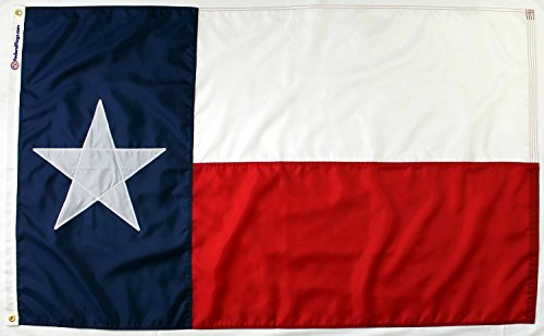 State of Texas Flag - Fully Sewn Nylon (3'x5')