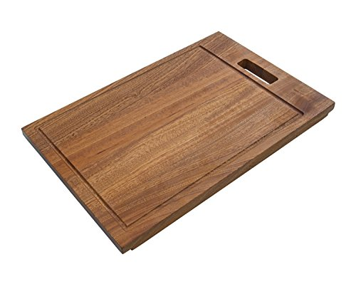 "Ruvati RVA1217 Solid Wood Cutting Board, 17"""