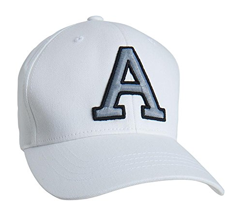 Aeropostale Mens Embroidered Fitted Hat
