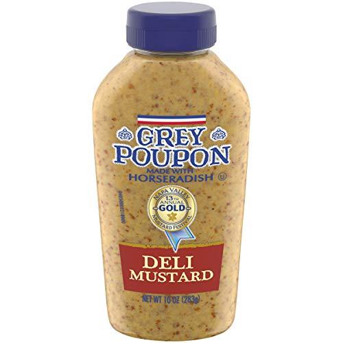 Grey Poupon Deli Dijon Mustard (10 oz Squeeze Bottle)