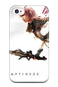 High-end Case Cover Protector For Iphone 4/4s(final Fantasy Xiii Lightning)