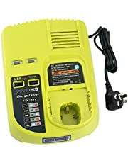 Generic Ryobi P117 Lithium Ion Dual Chemistry Battery Charger for One+ 18 Volt Batteries (Battery Not Included/Charger Only) AU Plug