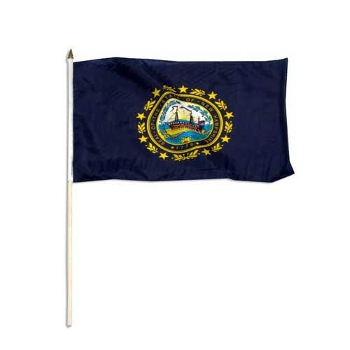 US Flag Store New Hampshire Flag 12 x 18 inch