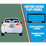 I Love Playing with My UTONAGAN Dog Cat Rescue License Plate Frame Tag Holder 7