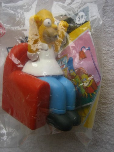 - Burger King 2008 Simpsons Couch-a-Bunga Homer