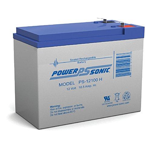 POWER SONIC PS12100H SEALED LEAD BATT.12V,10.5AH